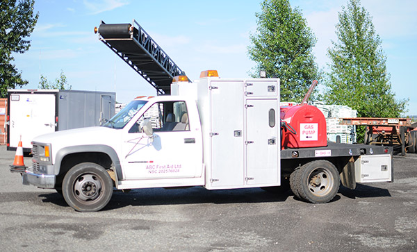 Fuel Truck Driver Side Exterior