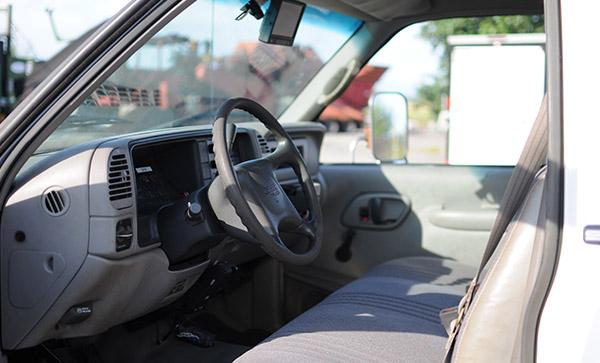 Fuel Truck Driver Interior